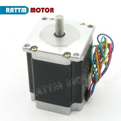 【IT】 3Pcs Nema23 Hybrid Stepper motor single shaft 270oz.in 1.8N.m 3A 76mm CNC 5