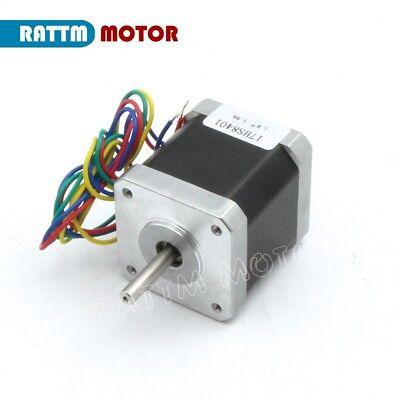【EU Stock】 5Pcs Nema17 Stepper Motor 78oz-in 48mm 1.8A for 3D Printer CNC Robot 7