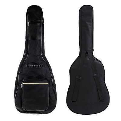 Funda de Guitarra Universal Acolchada para Guitarra Acústica y Clásica Negra 2