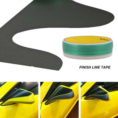 Knifeless Finish Line Tape  Squeegee Knife 10 Blades Vinyl Car Wrapping Tools US 8