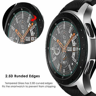 3xPACK Genuine Samsung Galaxy Watch 42/46mm 9H Tempered Glass Screen Protector 7