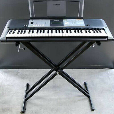 Electronic Piano X Stand Music Keyboard Standard Portable Rack Adjustables Metal 5