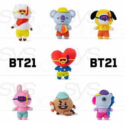 BTS BT21 Official Authentic Goods Von Voyage Summer Doll 15cm 5.9in + Tracking# 2