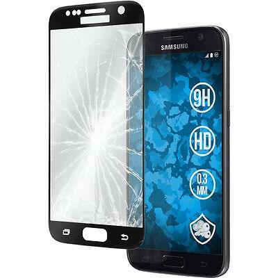 Vitre Protection VERRE Trempé Incurvé Film Ecran Samsung Galaxy S7 S8 Plus S9 3D 7