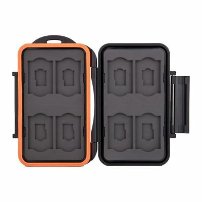 Kaavie KA-SM16 Water Resistant Memory Card Holder Case for 8x SD, 8x Micro SD