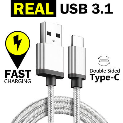 TYPE-C USB-C Data FAST CHARGING Charge Cable for Samsung S10 S9 S8 Plus Note 10 2
