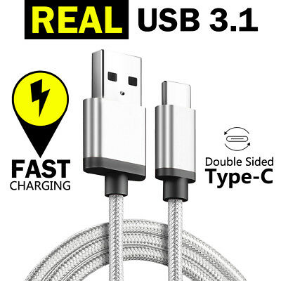 TYPE-C USB-C Data FAST CHARGING Charger Cable for Samsung S10 S9 S8 Plus Note 9 2