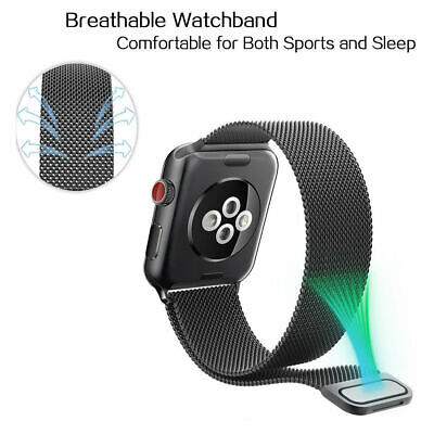 Milanese Loop Strap Watch Replacement Band Fit For Apple Watch Series 1/2/3/4 6