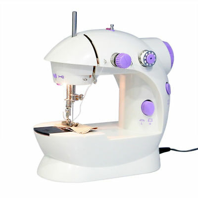 Electric Multi-function Portable Mini Desktop Sewing Machine handheld with LIGHT 4