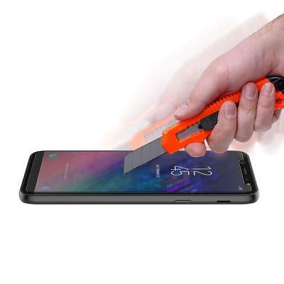 Transparente coque Samsung Galaxy A6/A6Plus 2018+ Verre trempé écran protecteur 5