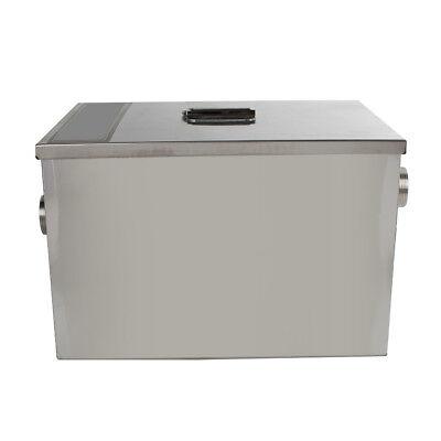 USA Stainless Steel Commercial Grease Trap Interceptor Filter Kit for Restaurant 7