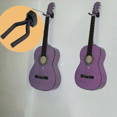 4X Guitar Hanger Adjustable Wall Mount Display Bracket Hook Holder Bass Stands 12