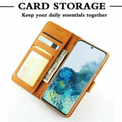 Samsung Galaxy S8 S9 S10 S20 Plus S10E Note 9 10 Wallet Leather Flip Case Cover 5