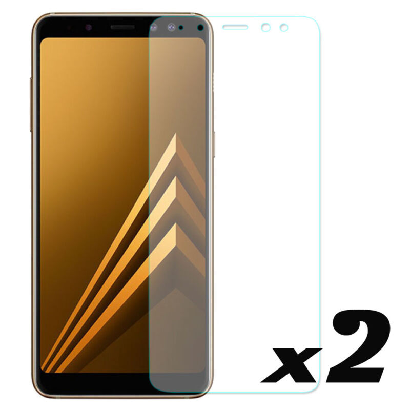 For Samsung Galaxy A8/A8Plus /J8 2018 9H Tempered Glass Film Screen Protector Y1 4