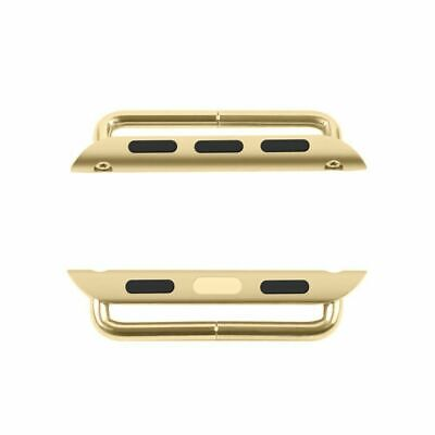 38mm 42mm Watch Band Connector Adapter Stainless Steel For Apple Watch iWatch US 10