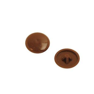 Beige Grey Plastic Pozi Screw Cap Covers Push Fit 6g or 8g Screws White Brown