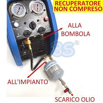 3S Separatore Dell'olio Universale Per Recuperatore Gas Refrigerante Con Tubo 2