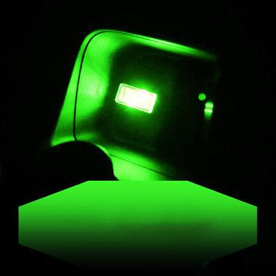 Mini USB Green LED Light Car Interior Light Neon Atmosphere Ambient Lamp 1PCS