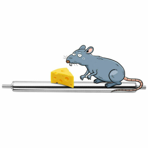 Rolling Mouse Trap Live Catch Release Bucket Spin Mice Cather Rats Rodents Hot 6