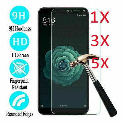 5Pcs Tempered Glass Screen Protector For Xiaomi MI 9SE 9 8 A1 A2 Redmi Note 7 6A 2