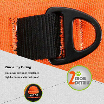No-pull Dog Pet Harness Reflective Outdoor Adventure Pet Vest Padded Handle 3M 9