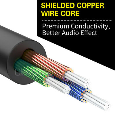 AUX Male to Male/ Female Cable Audio 3.5mm Headphone Stereo Extension Cord AU