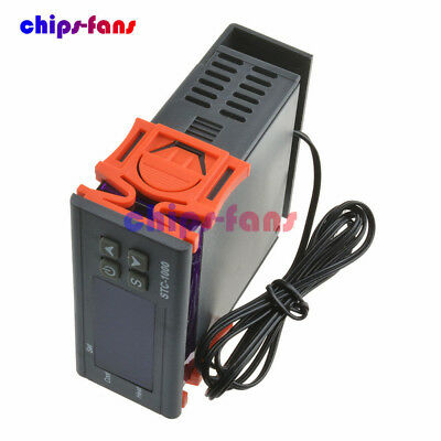 STC-1000 Temperature Controller Temp Sensor Thermostat Control Digital 110V-220V 4