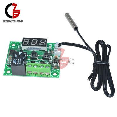 -50-110°C Red W1209 Digital thermostat Temperature Control Switch 12V + Sensor 2