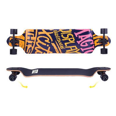 "41""Inch Longboard Skateboard Drop Longboard Cruiser Through downhill Complete 2"