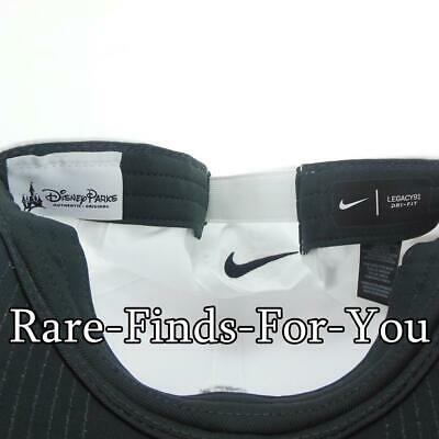 Disney Parks Nike Dri Fit Mickey Mouse White Grey Golf Baseball Cap Hat NEW/TAGS 3