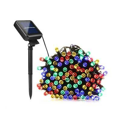 50/100/200 LED Solar Power Fairy Garden Lights String Outdoor Party Wedding Xmas 8