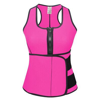 Women Sauna Thermo Shaper Sweat Waist Trainer Belt Slimming Vest Neoprene Corset 2