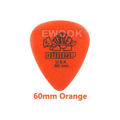6X / 12X Jim Dunlop Tortex Standard Plectrums Mixed Pro Gauges Guitar Picks AU 7
