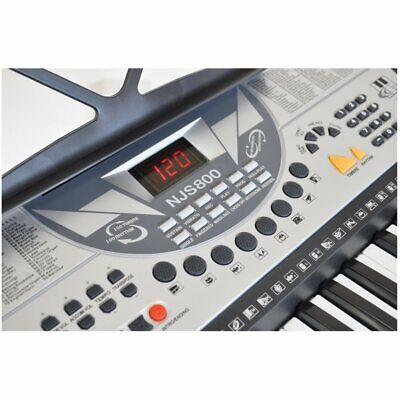 61 Key Full Size Digital Electronic Keyboard Kit Inc Stand, Stool and Headphones 3