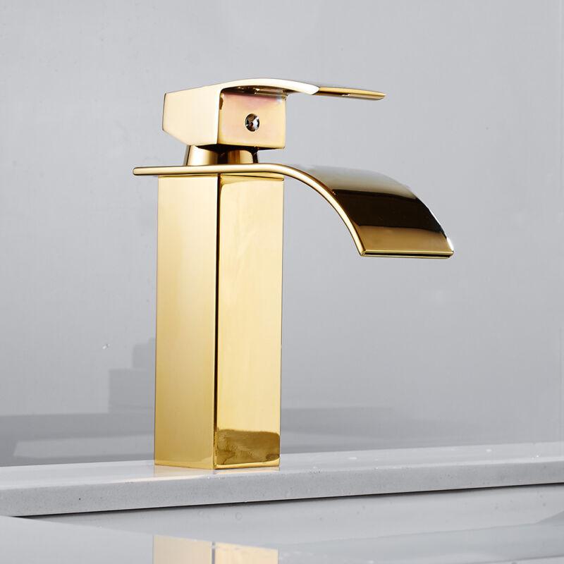 4a0bb48c6cfd42 1 sur 10Seulement 0 disponible cascade robinet lavabo évier mitigeur robinet  or seul levier robinet Moderne