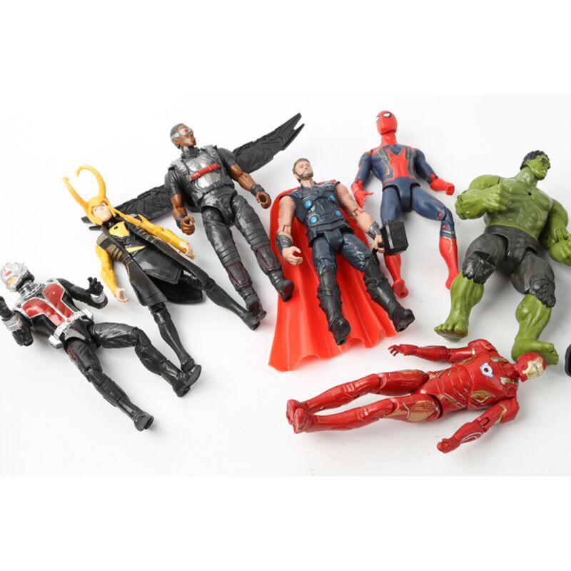 20Stk Avengers Infinity War Figuren Thanos Marvel Actionfigur Spielzeug Sammlung 4