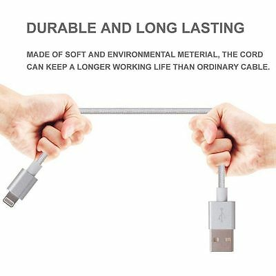 Certified Lightning Cable 3 6 10 FT MFi USB Charger for iPhone XS Max 7 6s Plus 7