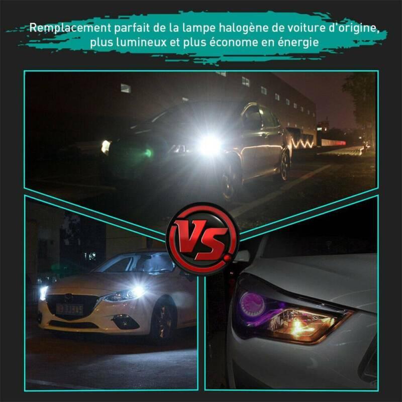 2X T10 501 194 W5W SMD 24 LED Car CANBUS Error Free Wedge Light Bulb White 10
