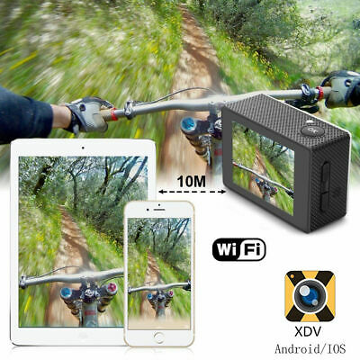 Ultra 4K Full HD 1080P Waterproof Sports Camera Wi-Fi Action Camcorder as Go Pro 4