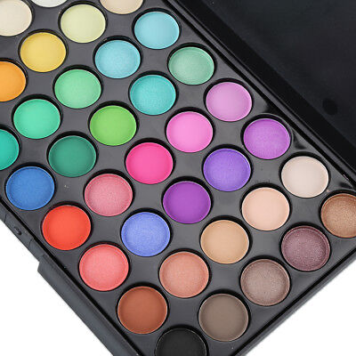 40 Color Nude Eyeshadow Palette Mineral Matte Pigment Eye Shadow Waterproof R6TY 3
