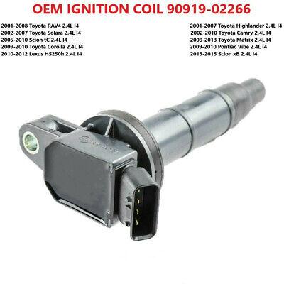 1PC IGNITION COIL JSC276 FOR 2009 2010 PONTIAC VIBE 2.4L L4