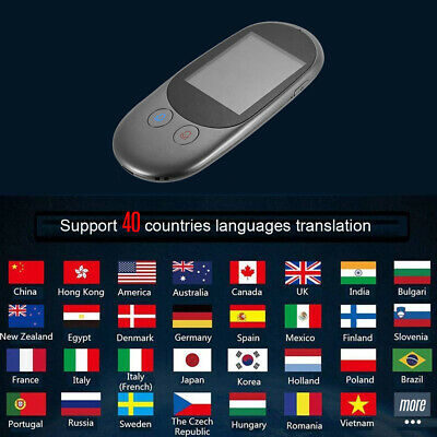 Protable Instant Multi-Language Smart Wifi/offline Photo Voice Translator Device 2