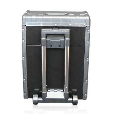 320 US PRO Tools Black Mobile Roller Chest Trolley Cart Storage cabinet Tool Box 5