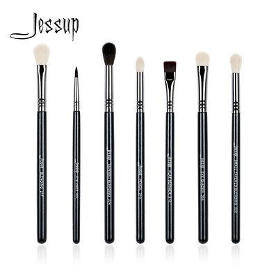 Jessup Pro Eye Makeup Brushes Set Kits Blending Eyeshadow Cosmetic Brush Tool