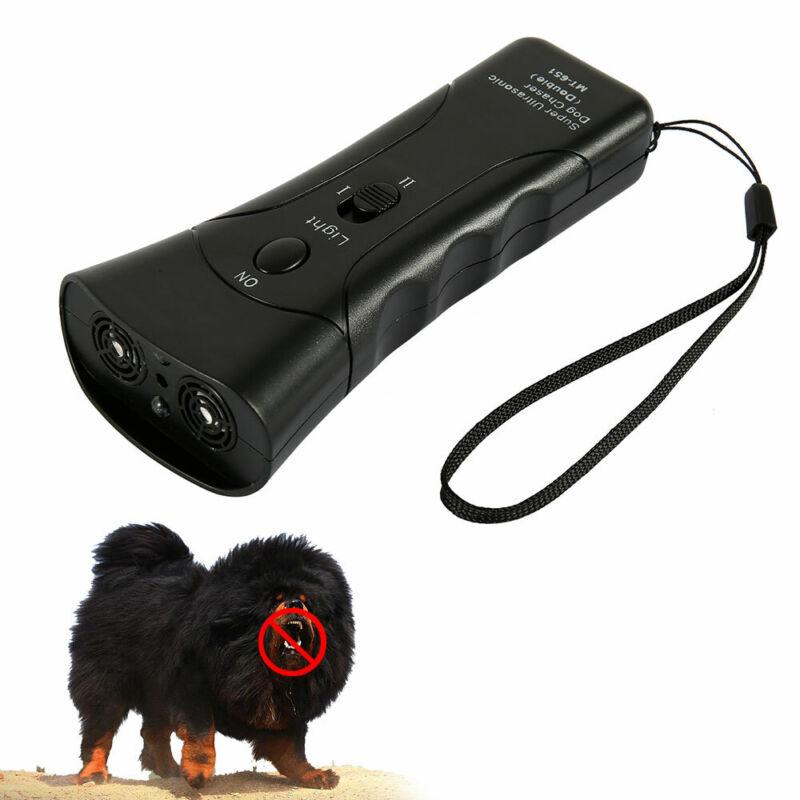 Pet Dog Ultrasonic Anti-Barking Trainer LED Light Gentle Chaser- Petgentle Style 9