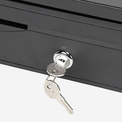 Electronic/Manual Security Lockable Cash Box Tray Money Drawer Safe Storage Keys 11