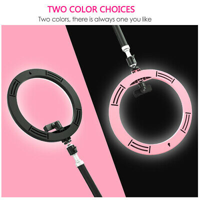 "12"" 180Pcs LED Ring Light Dimmable 5500K for SmartPhone/Camera with Light Stand 2"