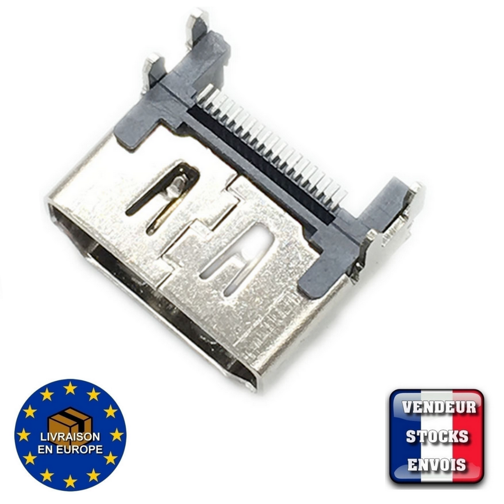 Connector HDMI Playstation 4 PS4 - Port V2 socket  19 pin - CUH 1004 1216 1116 3