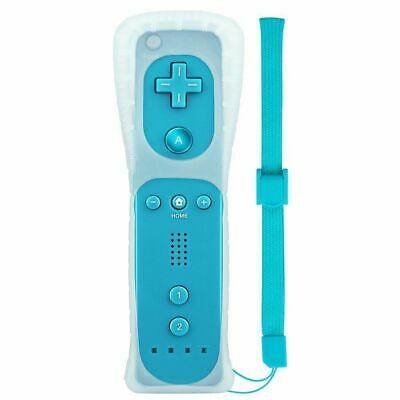 Built in Motion Plus Remote Controller For Nintendo Wii & Wii U Wiimote Gel Case 3