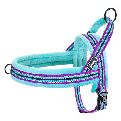 Reflective Dog Harness Pet No Pull Strap Vest Front Leading Walking Harness XS-L 4